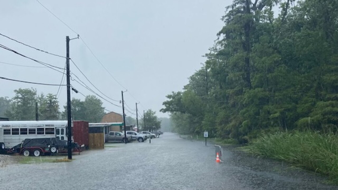 Flooding in Stephensville