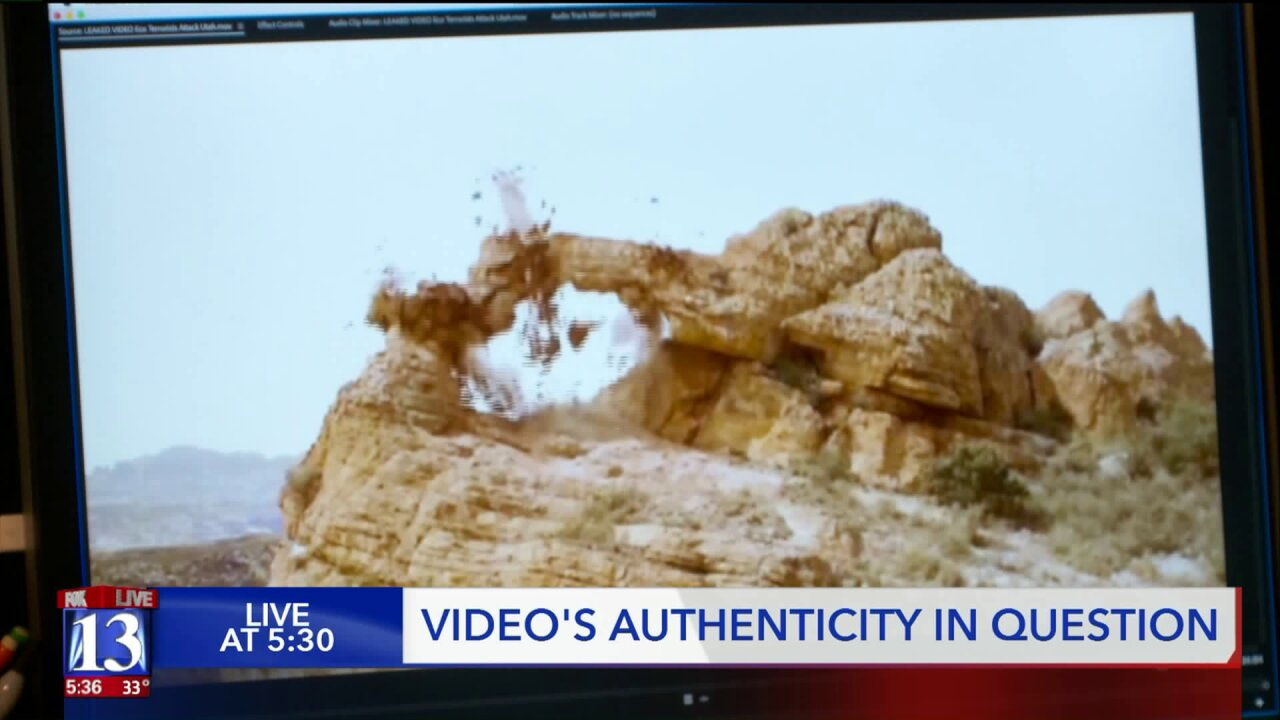 State agency says videos showing destruction of Utah arch, hoodoos appear to be fake