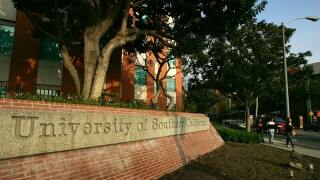 USC university of southern california campus
