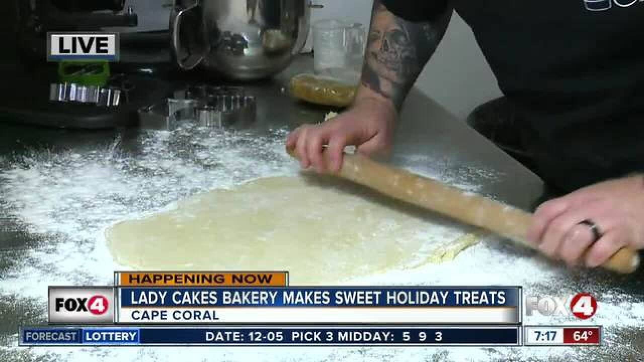 Lady Cakes Bakery makes homemade holiday treats