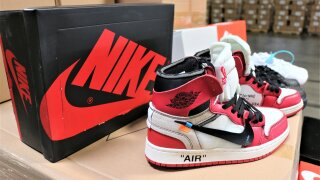 More than $2 million worth of fake Nikes seized at Los Angeles port