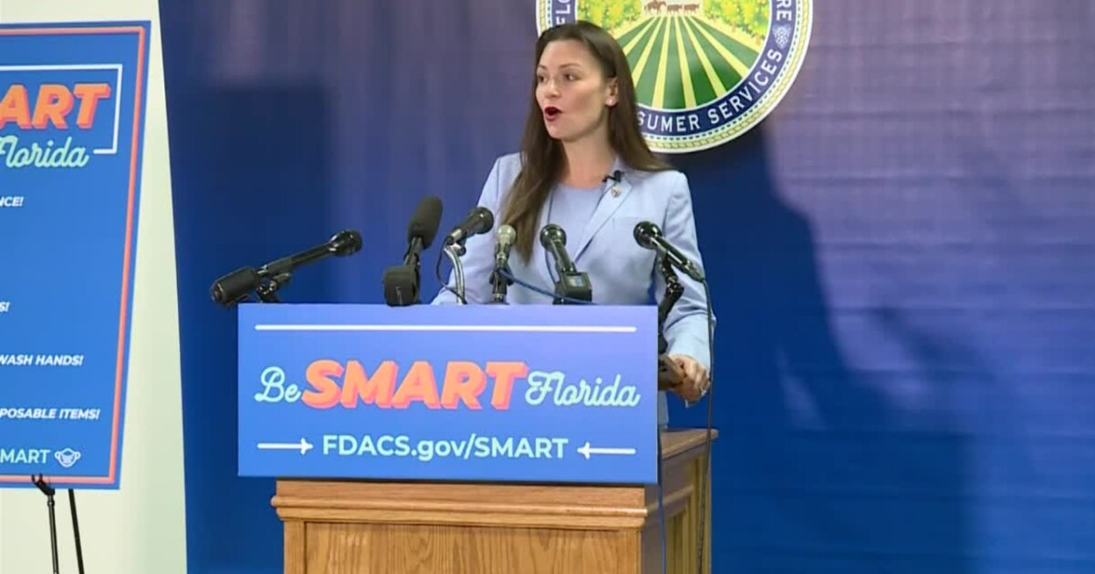Florida's Agriculture Commissioner announces campaign to reduce spread of coronavirus