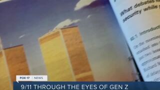 'We don't know life before that:' Gen Z reflects on 9/11, an event they didn't experience