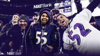 Ravens Fan Cutout