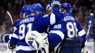 Tampa Bay Lightning celebrate
