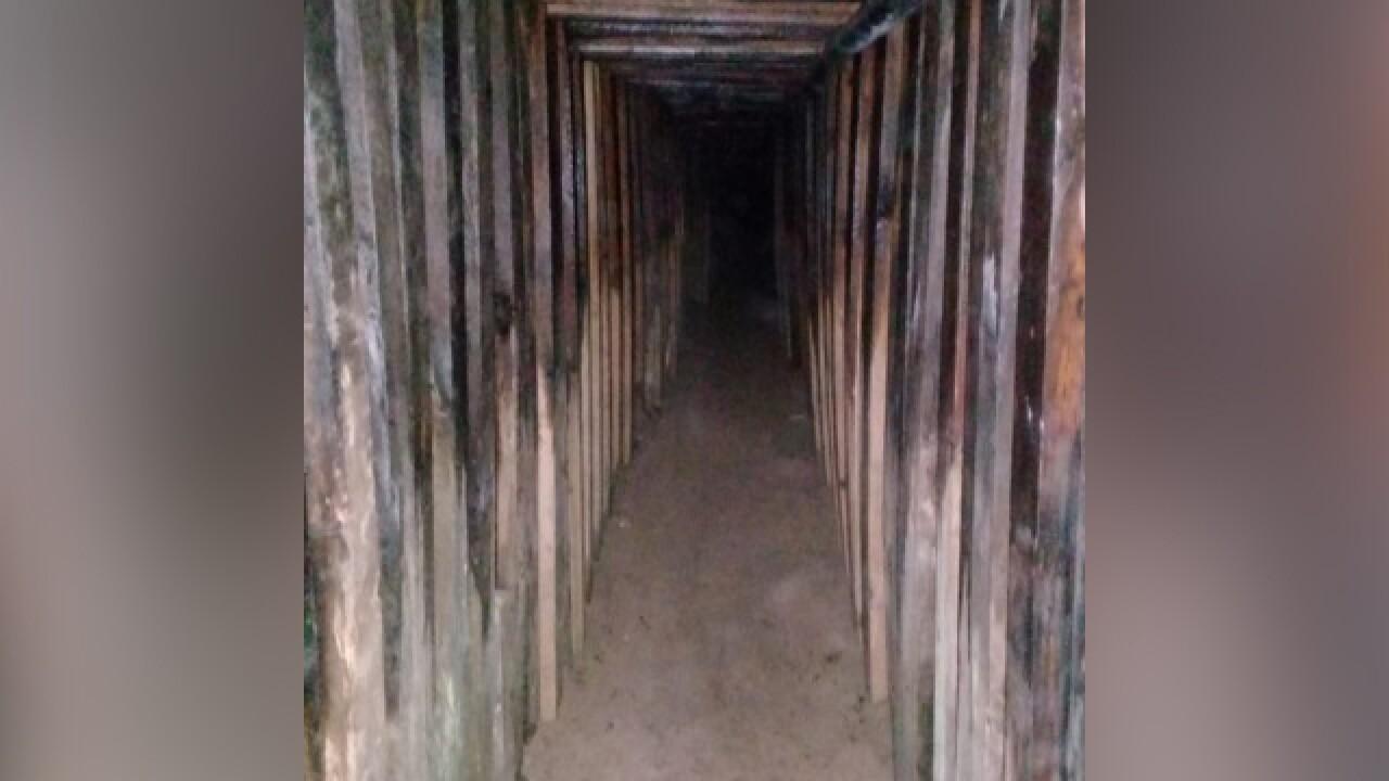 Cross-border tunnel found in Arizona