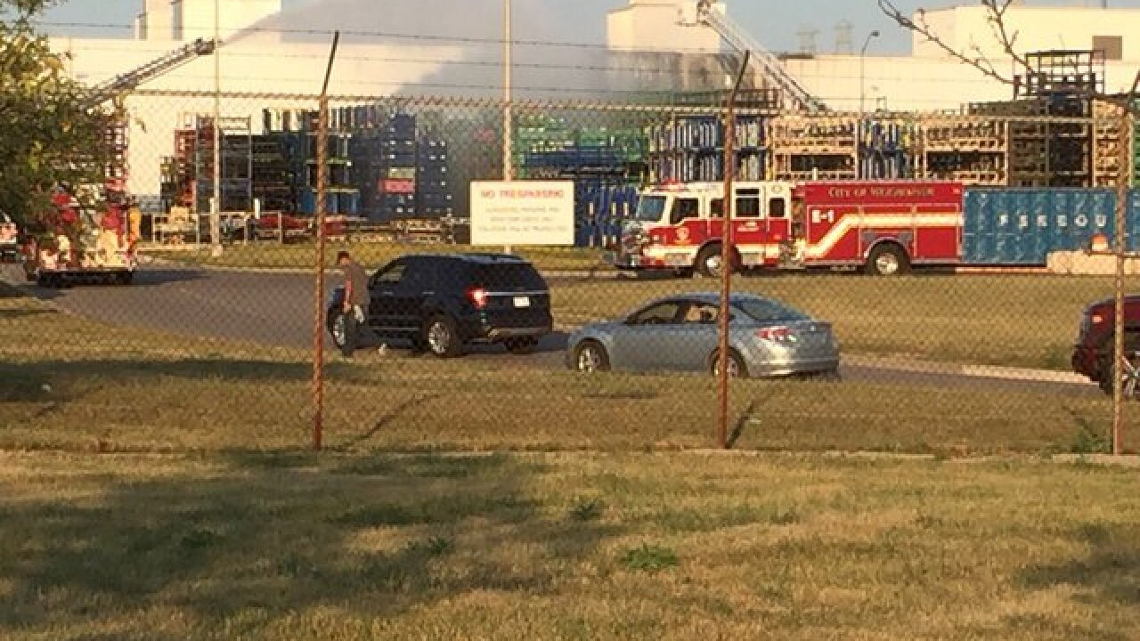 Fire breaks out at Ford's Flat Rock Assembly