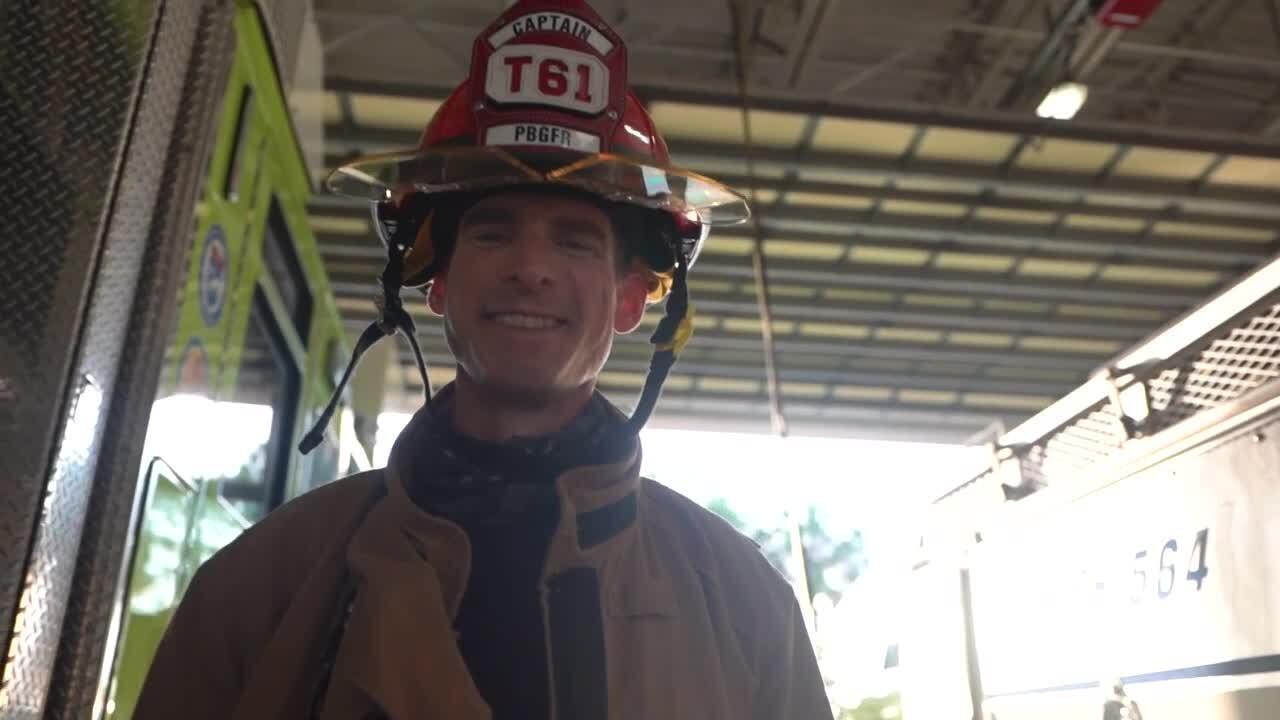 Brian Wolnewitz, Palm Beach Gardens fire captain diagnosed with cancer