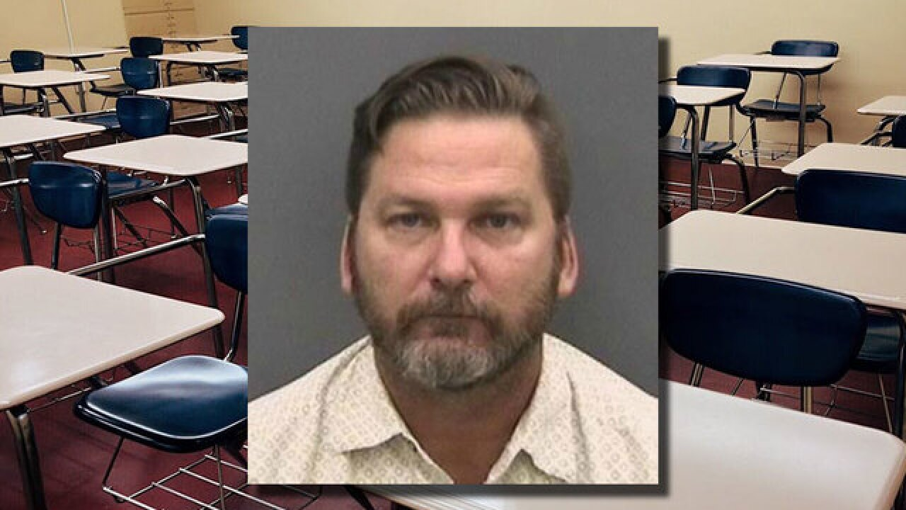 Former Florida teacher faces 353 new charges after students were recorded while changing clothes at