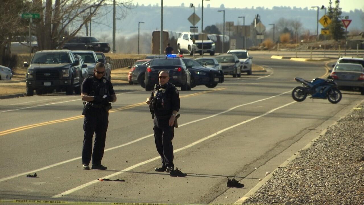 Motorcyclist dies in crash in Billings