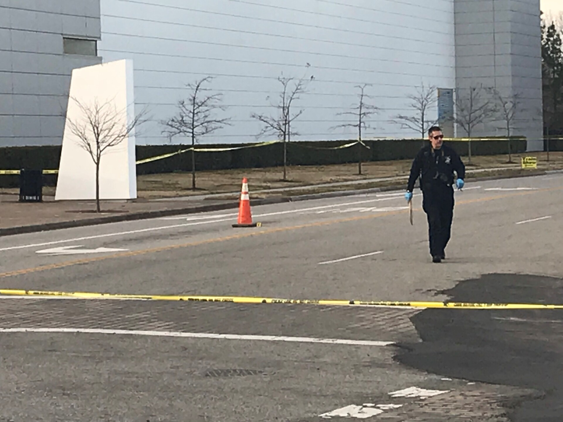 Photos: Police investigating after man found shot near Virginia Beach Convention Center
