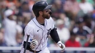 Eric Haase Rangers Twins Baseball