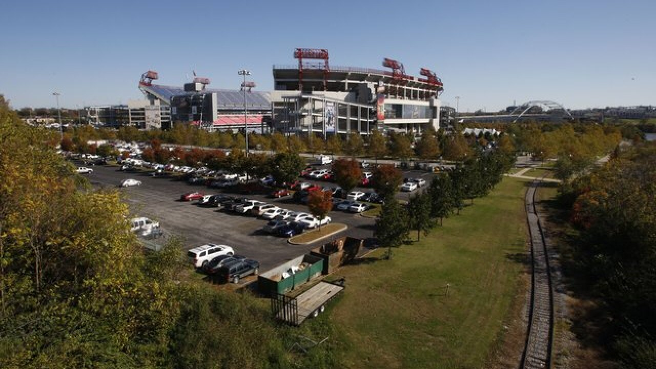 Man now in stable condition after fall at Titans game