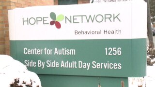 Sign at a Hope Network location