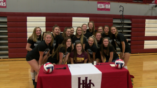 Montana State Northern Volleyball signs Emily Feller