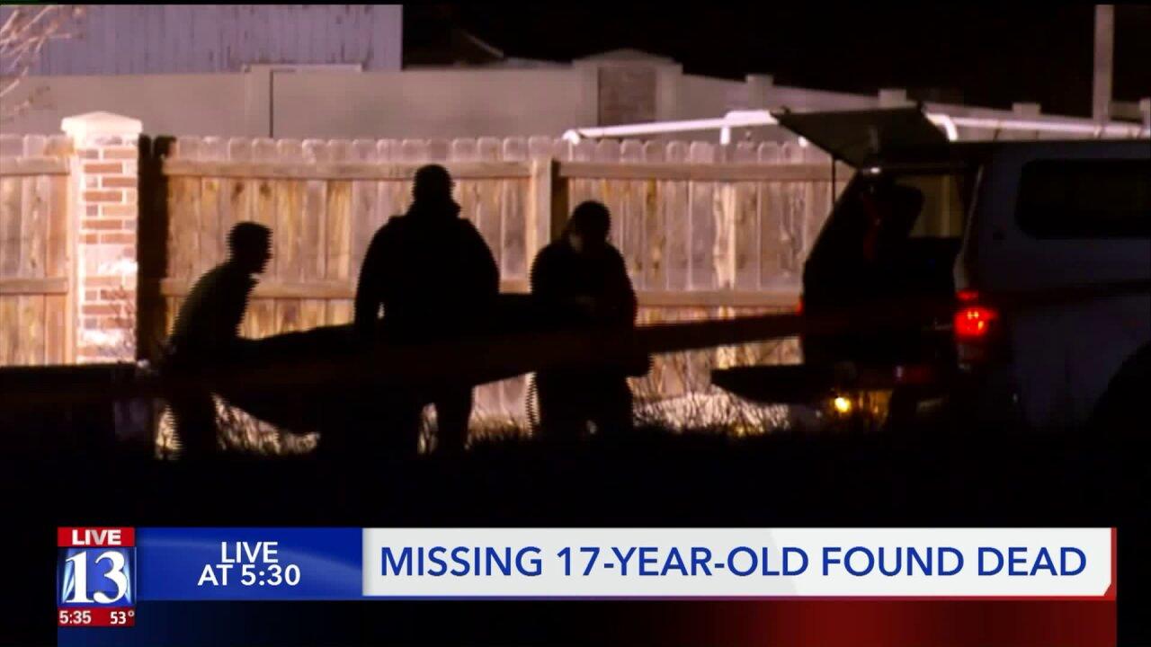 Police identify teen found dead inKearns