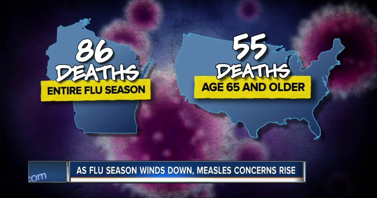 As flu season ends, another viral infection could come to