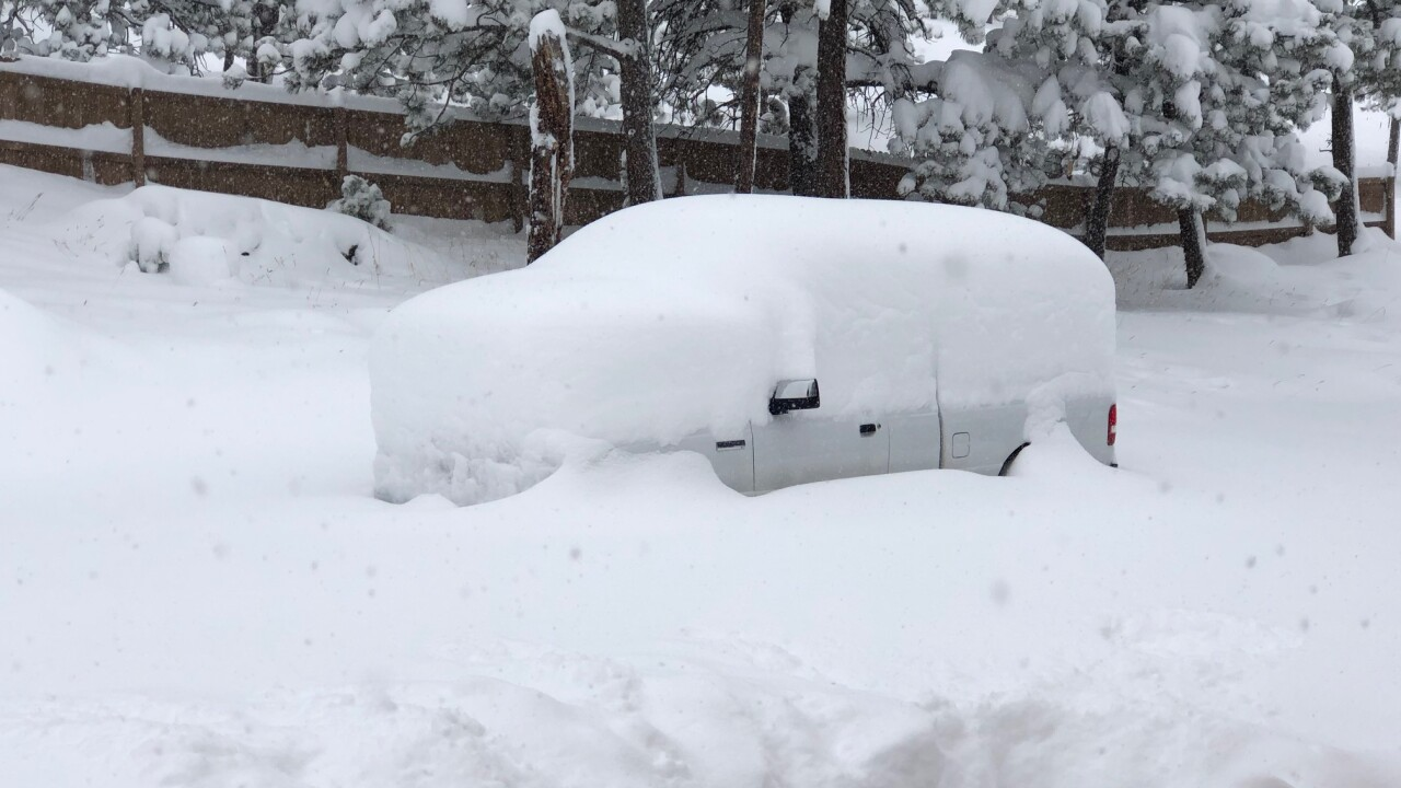 More Than 2 Feet Of Snow In Some Parts Of Colorado In Latest Storm