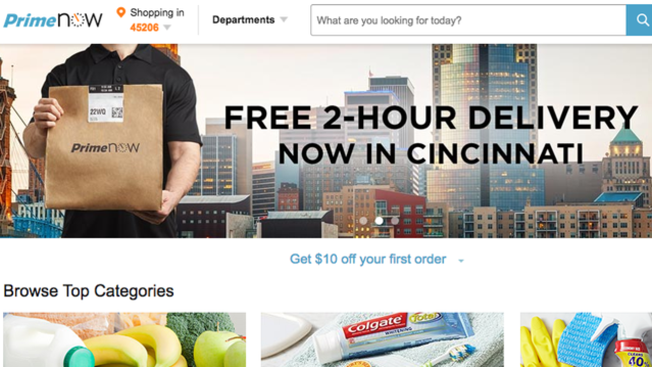 Amazon Prime debuts free 2-hour delivery option
