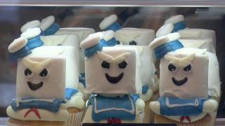 Spooky Swirls Cupcakes