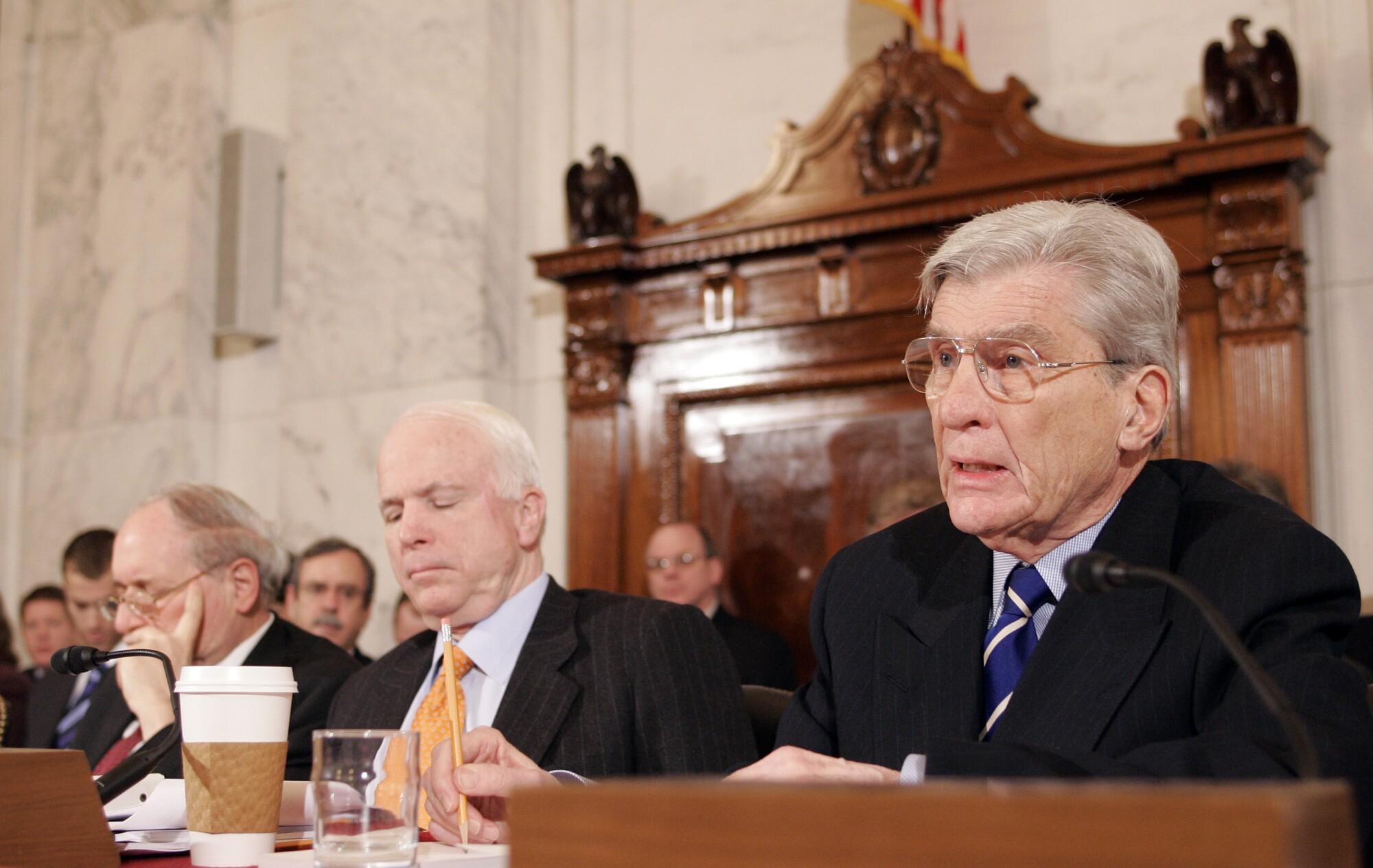 Carl Levin, John Warner, John McCain