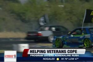 Program helps veterans through recovery with the help of driftting