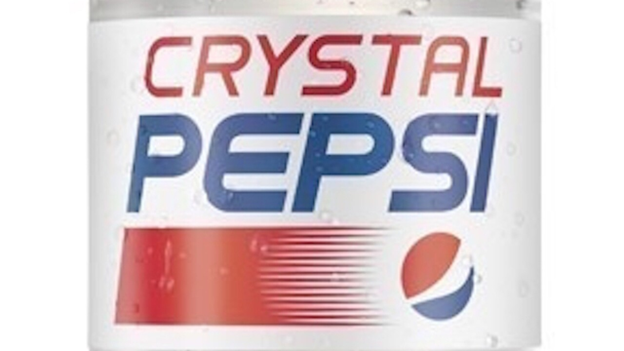 Crystal Pepsi coming back this summer