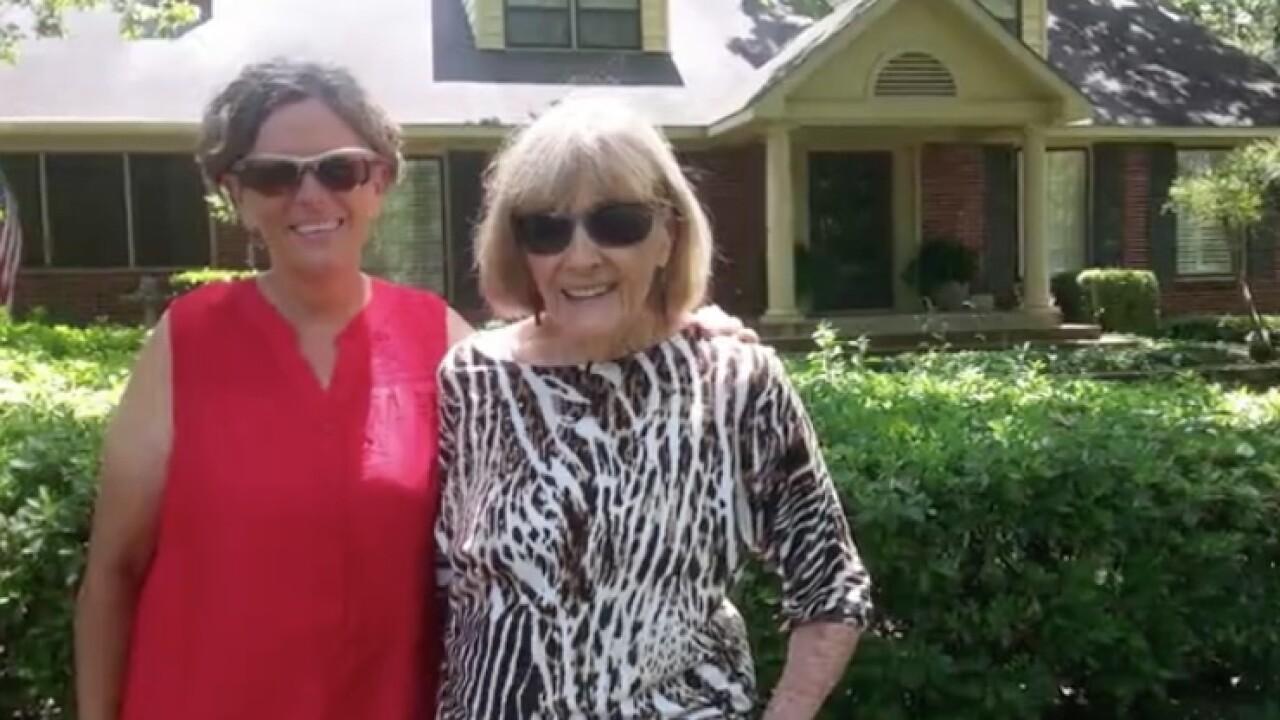 K. Alferio and Mom