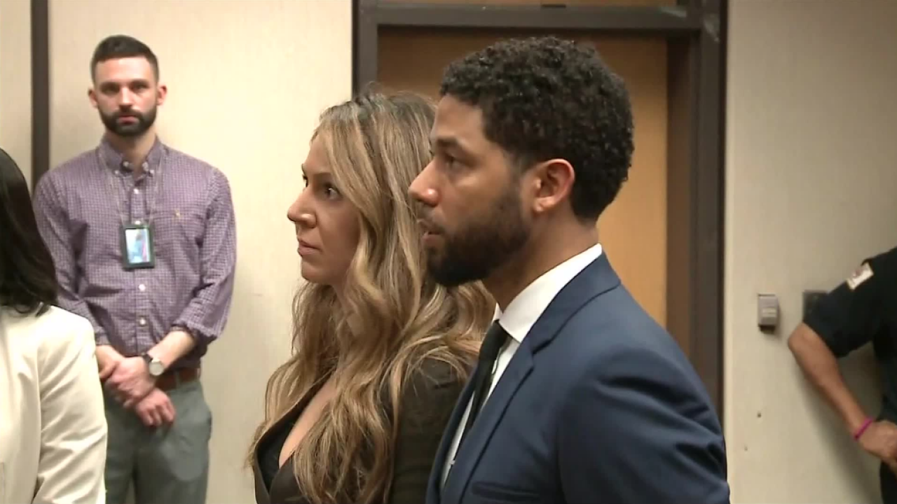 'Empire' Actor Jussie Smollett enters not guilty plea during arraignment