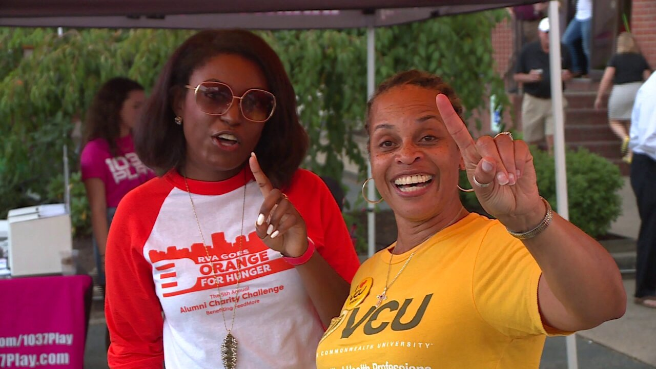 VCU's alumni chapter creating history with annual canned fooddrive