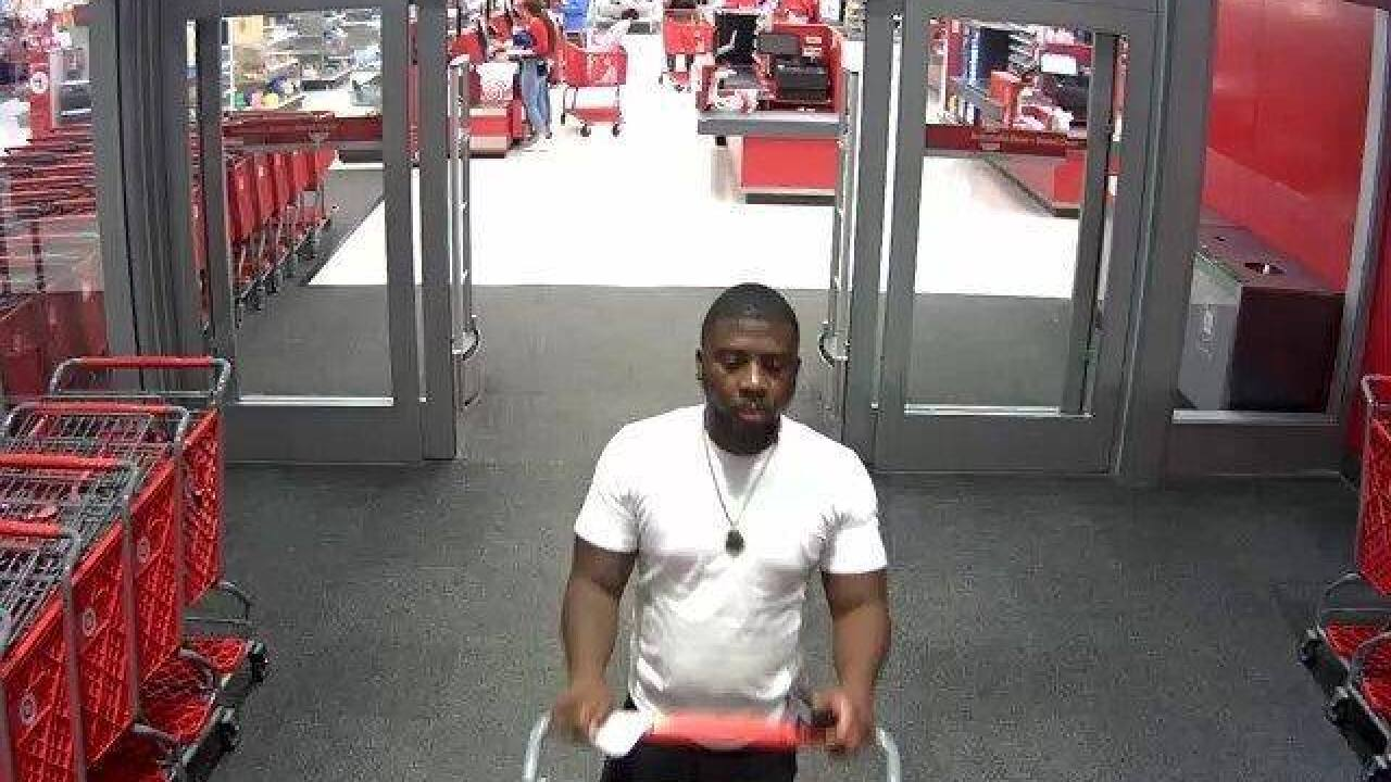 Man leaving Target_Person of Interest Robinson PD.jpg