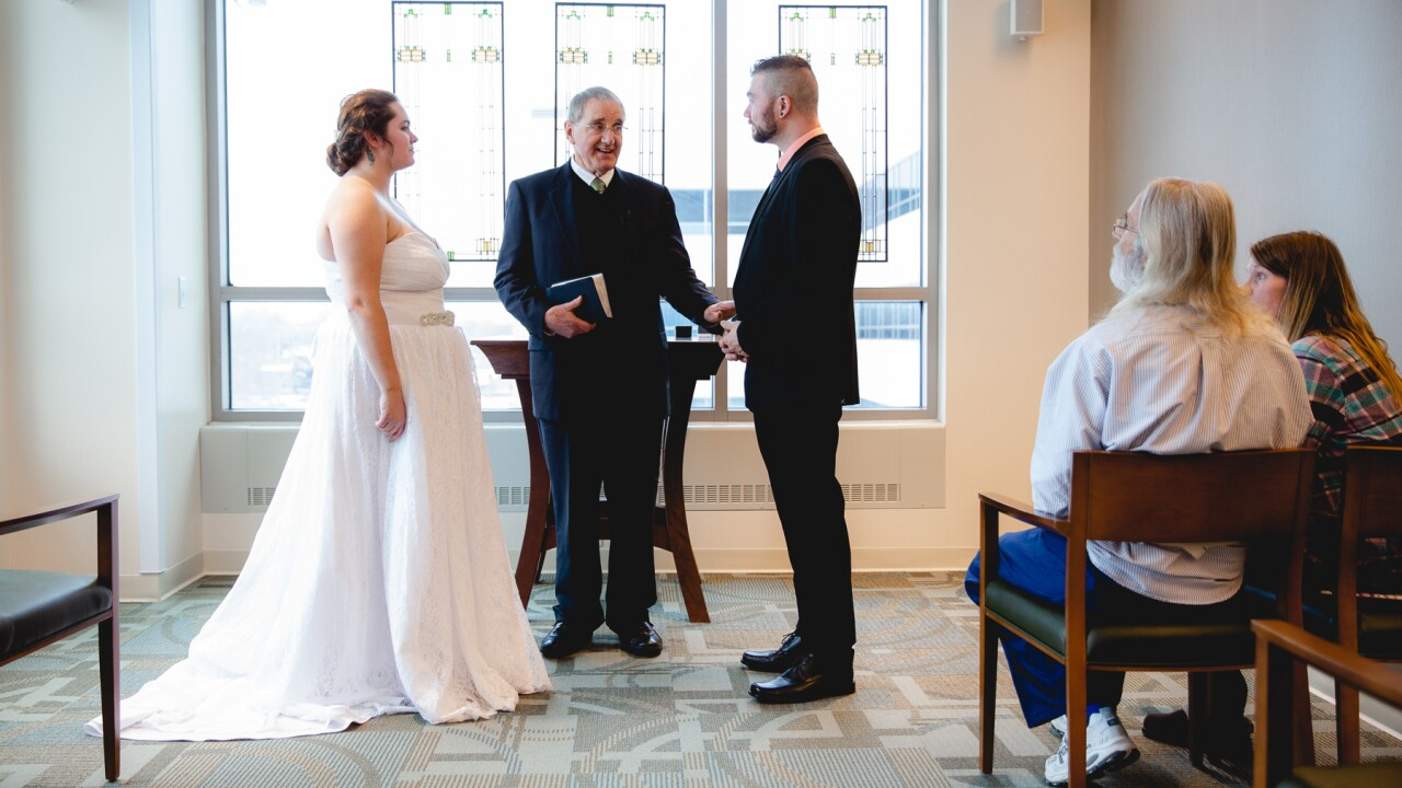 Wedding moved to Mary Free Bed so dad can walk bride down aisle