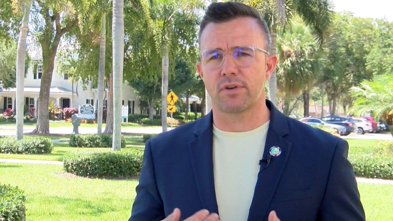 Delray Beach Commissioner Ryan Boylston