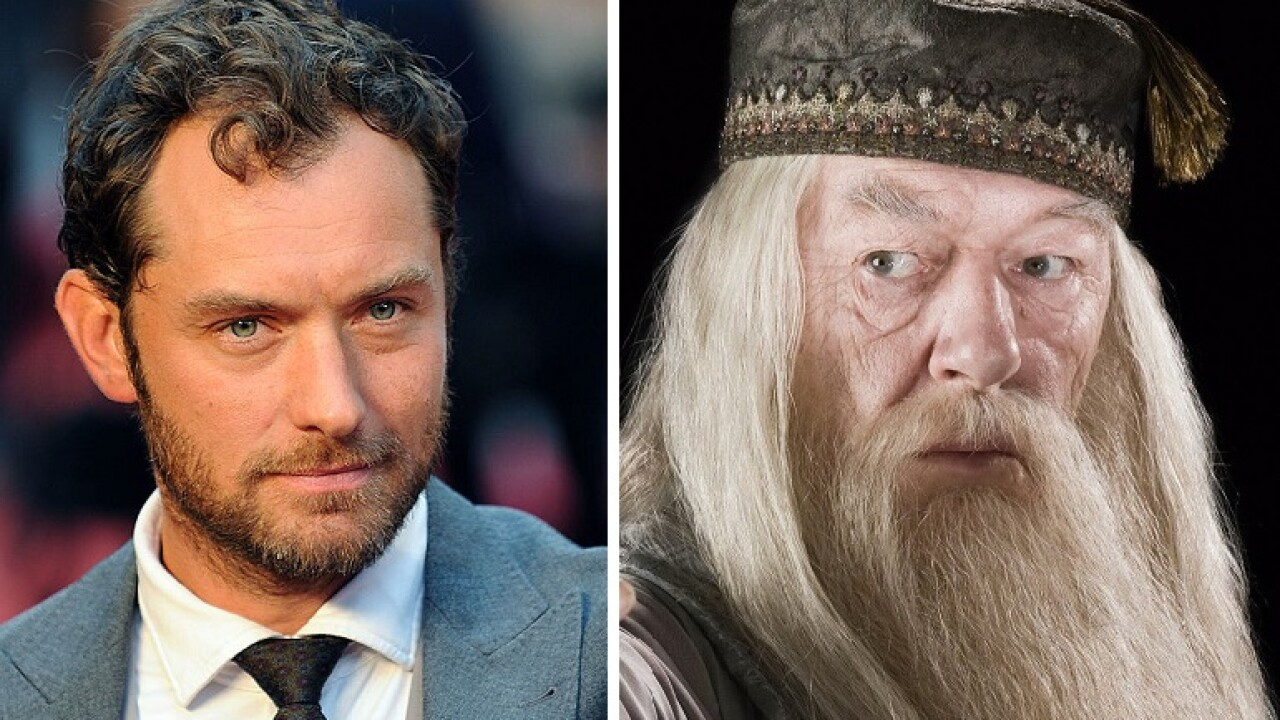 Jude Law to play young Dumbledore in 'Fantastic Beasts' sequel