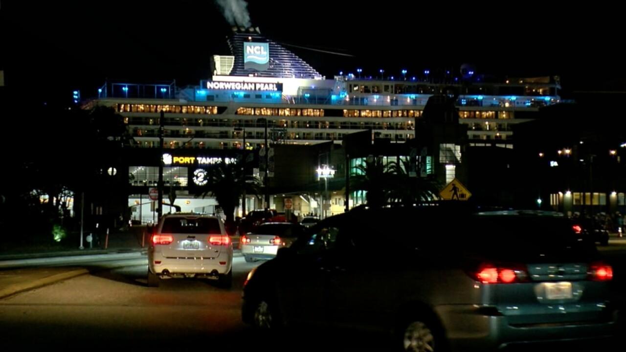 Norwegian Pearl Port Tampa Bay