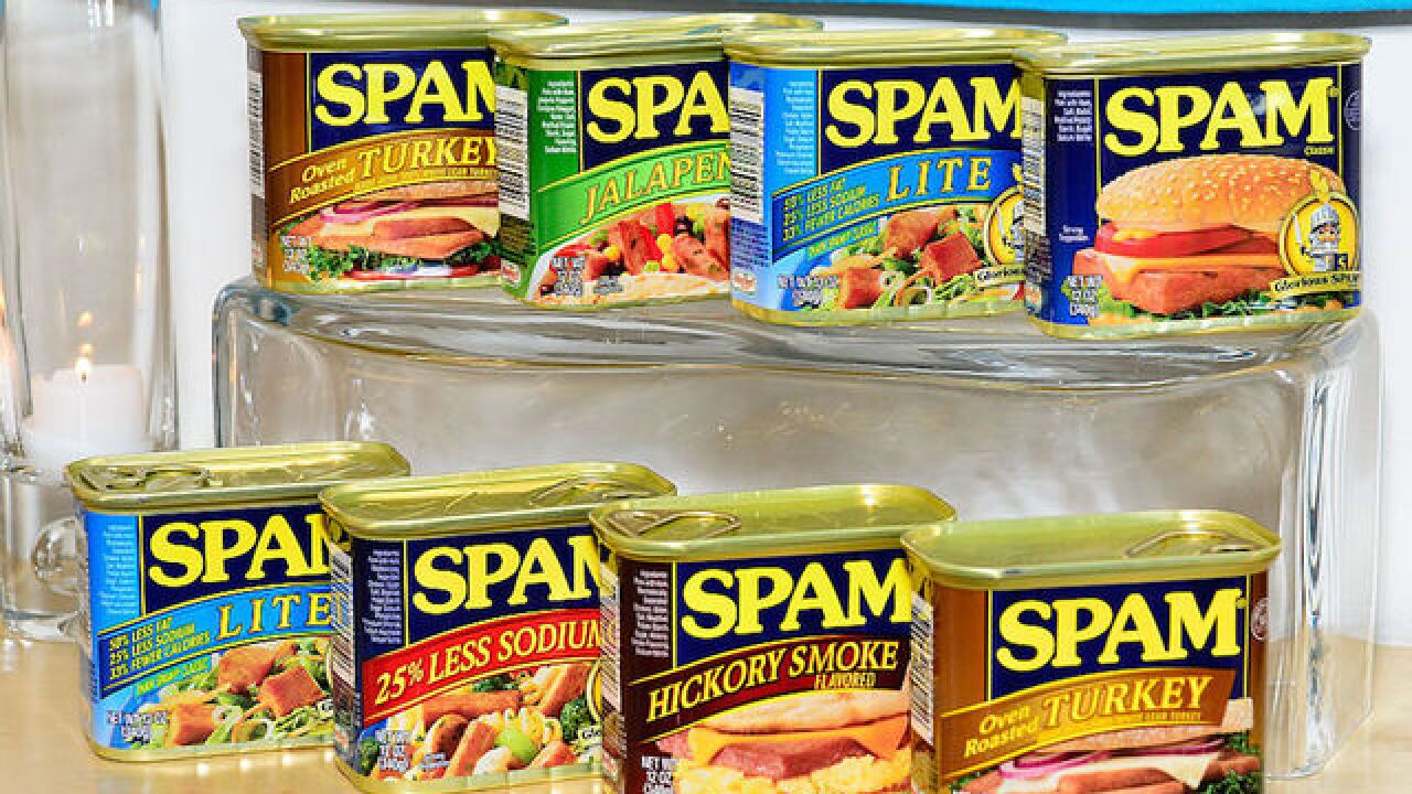 More than 228,000 pounds of Spam, other products recalled