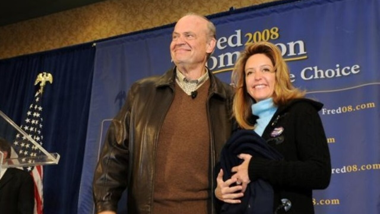Fred Thompson's Widow Asks Judge To Dismiss Estate Claim