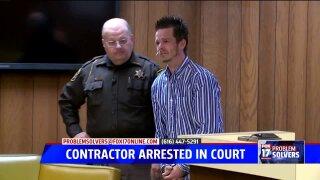 UPDATE: Contractor arrested in CivilCourt