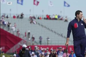 Americans take a 3-1 lead in opening Ryder Cup session