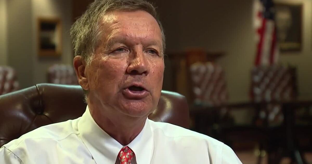 Catching up with former Governor John Kasich