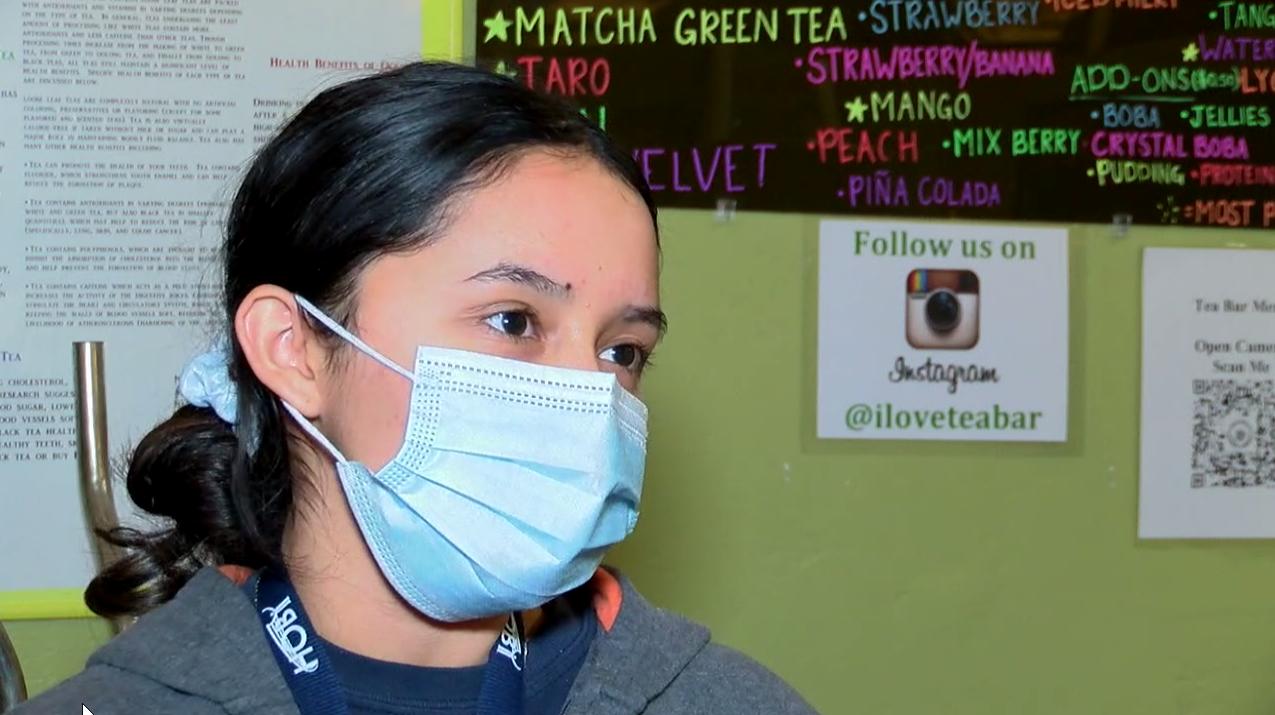 Amanda Sanchez, Tea Bar Customer