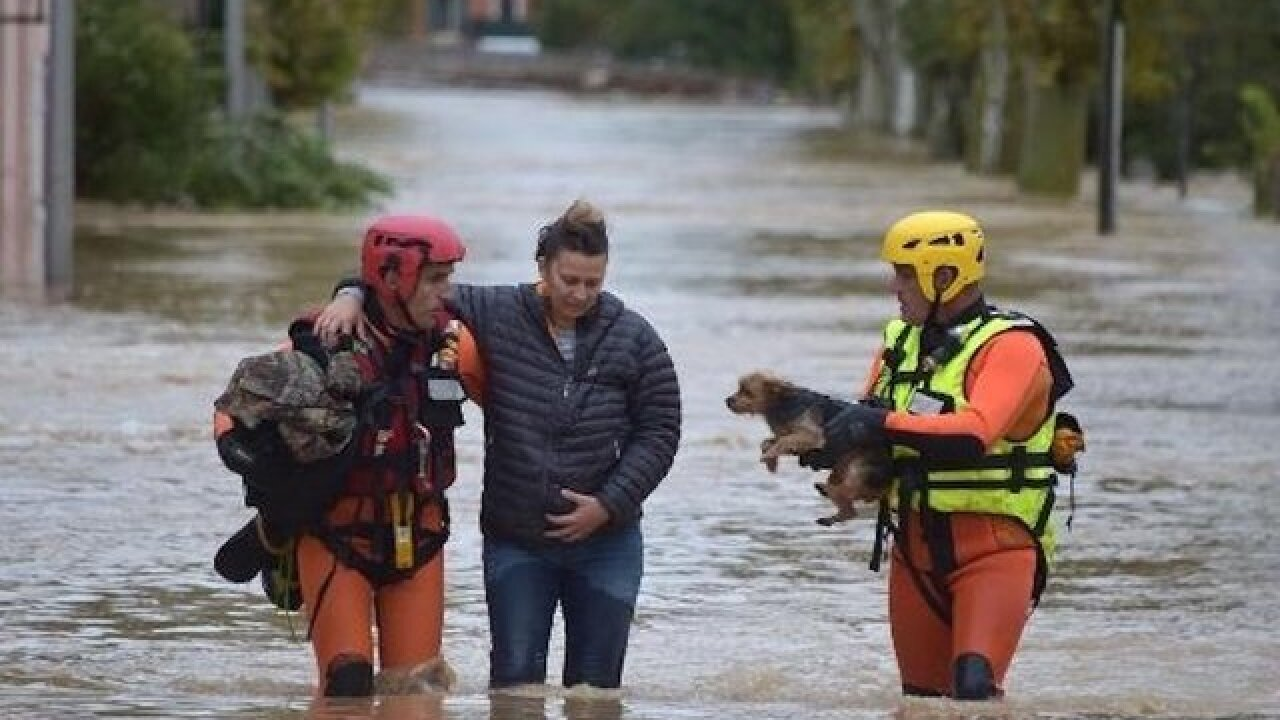 10 dead after floods hit southern France