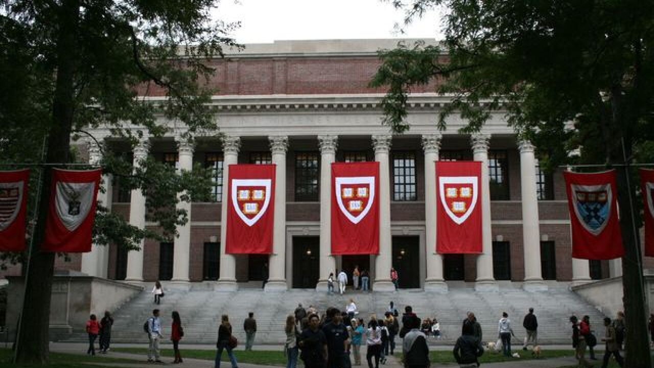 DOJ: Harvard discriminated against Asian-Americans