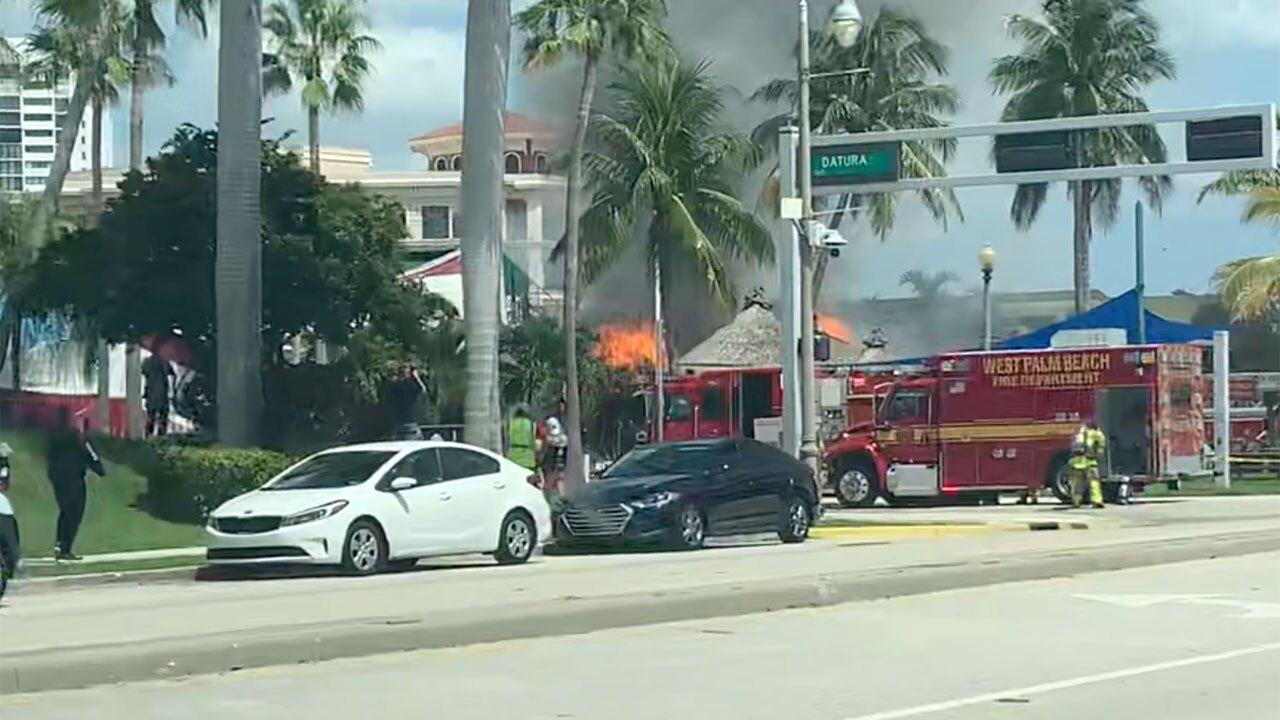 E.R. Bradley's Saloon fire on Sept. 9, 2021