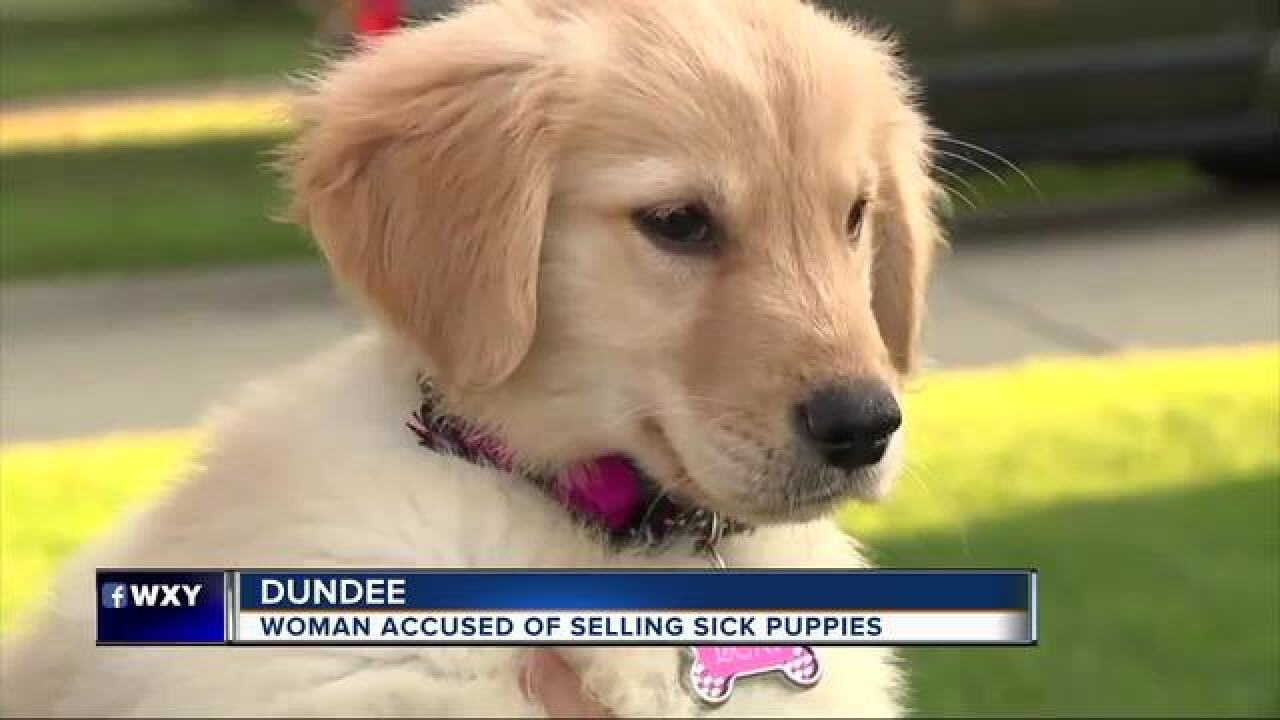 Woman paid $4K in vet bills after buying puppy from Michigan woman