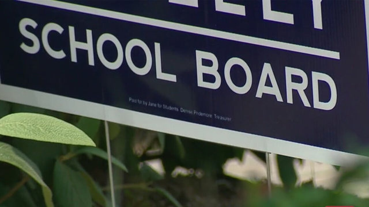 Campaign Finance Complaint Filed Day Before School Board Election