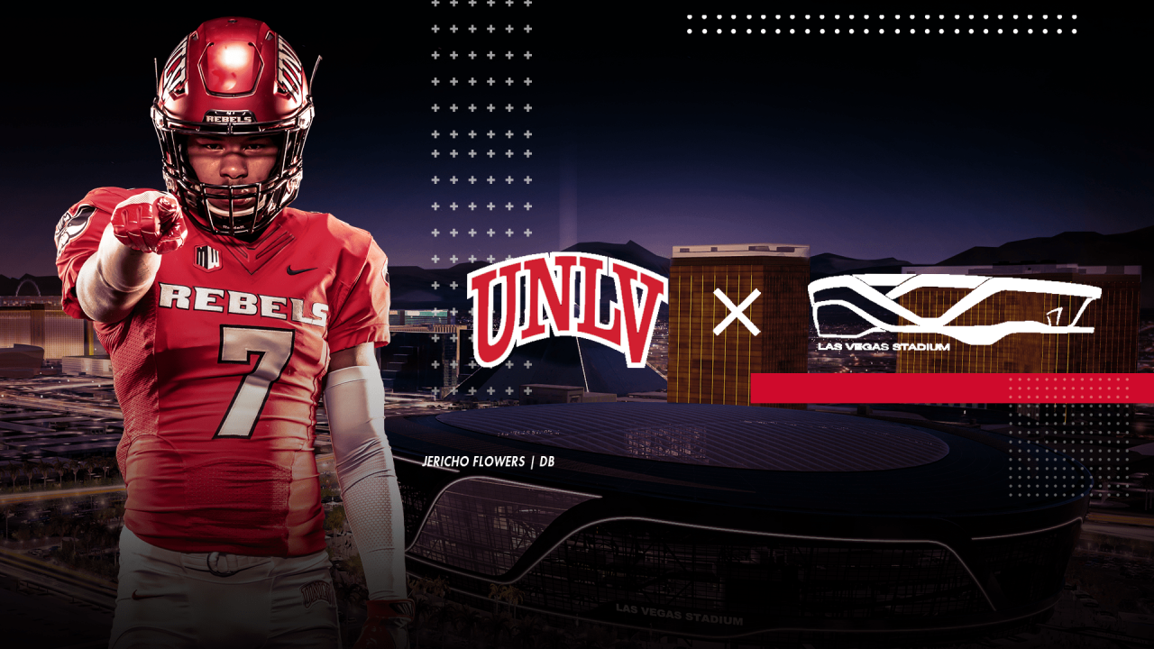 reputable site b272e 09c91 UNLV is making loyal football fans a priority