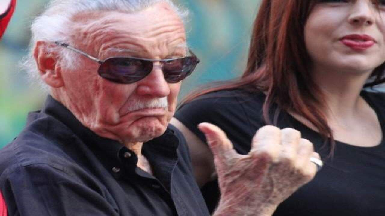 Report: Comic legend Stan Lee's blood used to sign comic books sold in Las Vegas