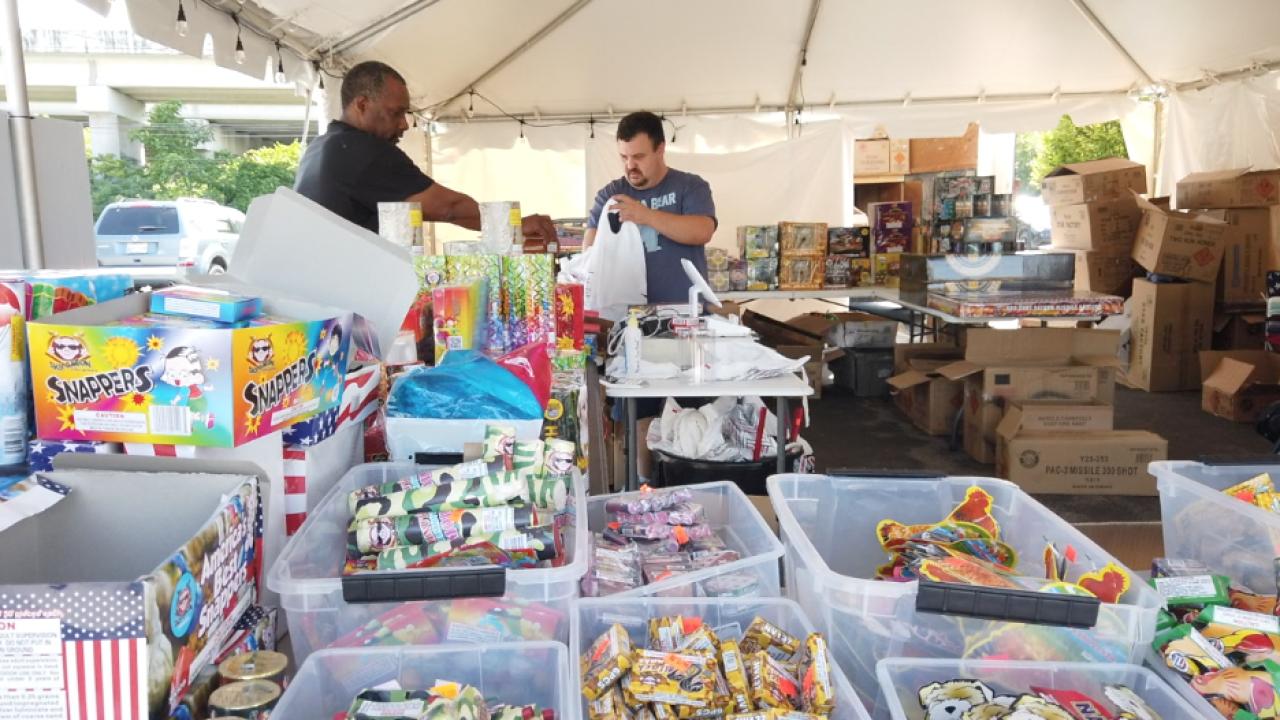 Fireworks sales skyrocket