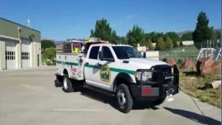 New El Paso County Brush TRuck